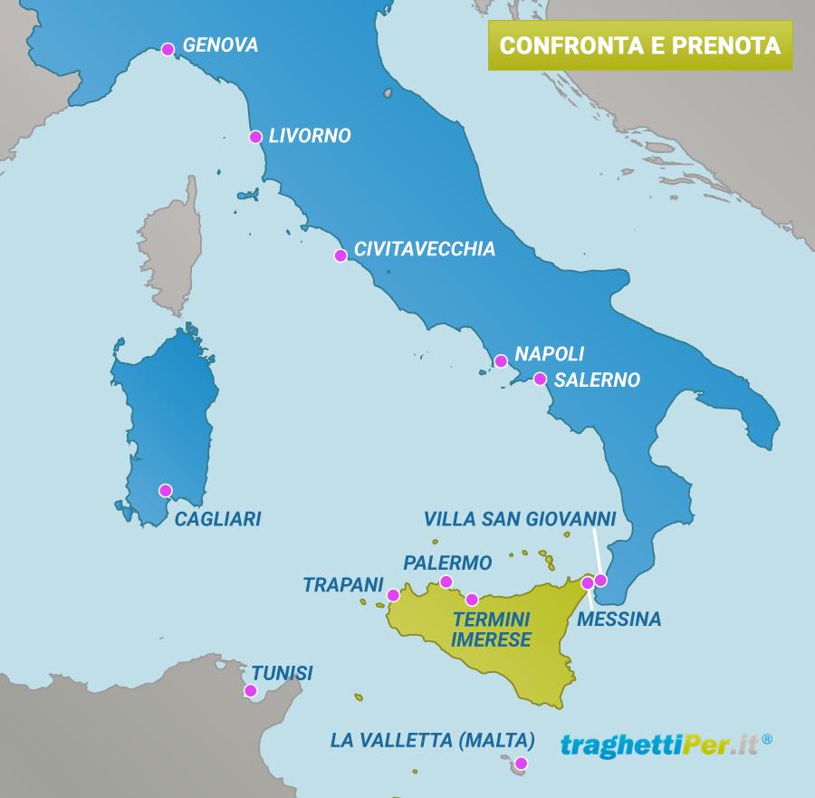 comparatore prezzi traghetti sicilia